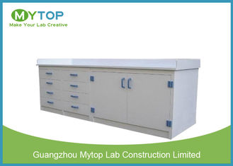 Klinik PP Lab Modul Modular Chemical Perlawanan Lab Table Untuk Laboratorium