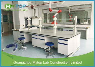 Patologi Rumah Sakit Lab Laboratorium Modular Lab Bench Table Anti Bakteri