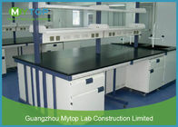 Cina Steel Modern Laboratory Furniture Epoxy Coating Lab Workbench Impact Resistance perusahaan
